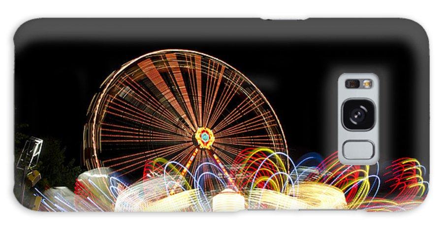 Amusement Park Galaxy S8 Case featuring the photograph Amusement Park by Mats Silvan