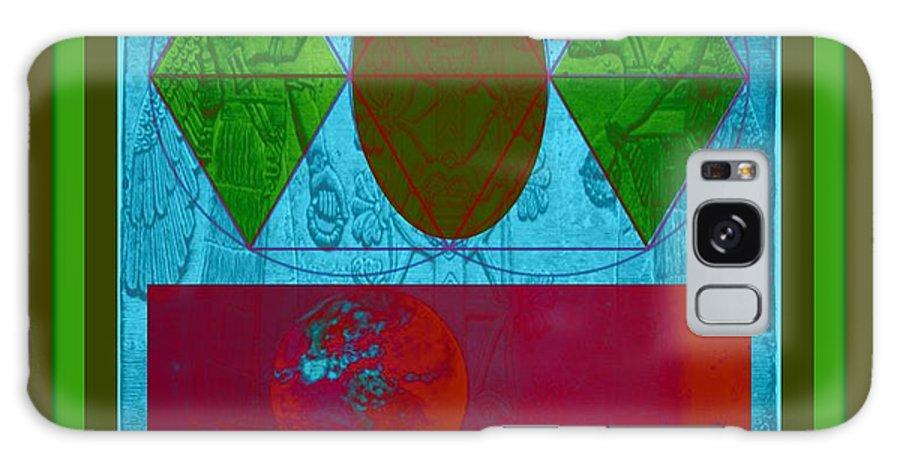 Landing On Earth Galaxy S8 Case featuring the digital art The Eagle by Meiers Daniel