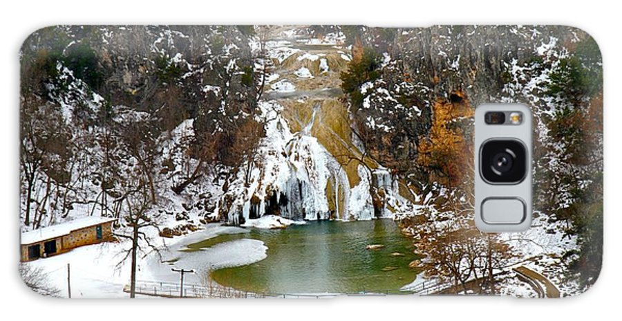 Turner Falls Galaxy S8 Case featuring the photograph A Beautiful Winters Day by John Rohloff