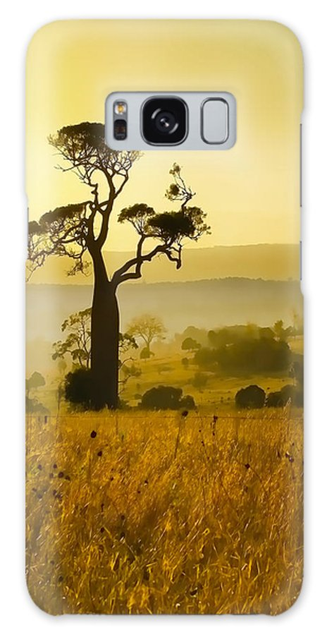 Landscapes Galaxy S8 Case featuring the photograph A Boab Sunrise by Holly Kempe