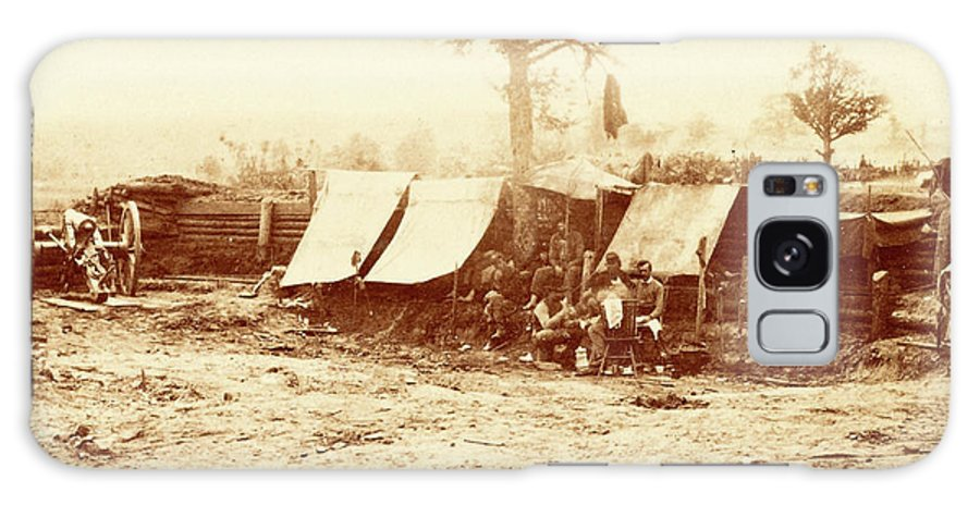 Confederate Redoubt Galaxy S8 Case featuring the photograph A Confederate Redoubt, Us, Usa, America by Litz Collection