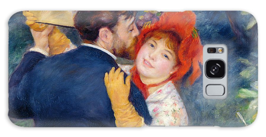 Renoir Galaxy S8 Case featuring the painting A Dance In The Country by Pierre Auguste Renoir
