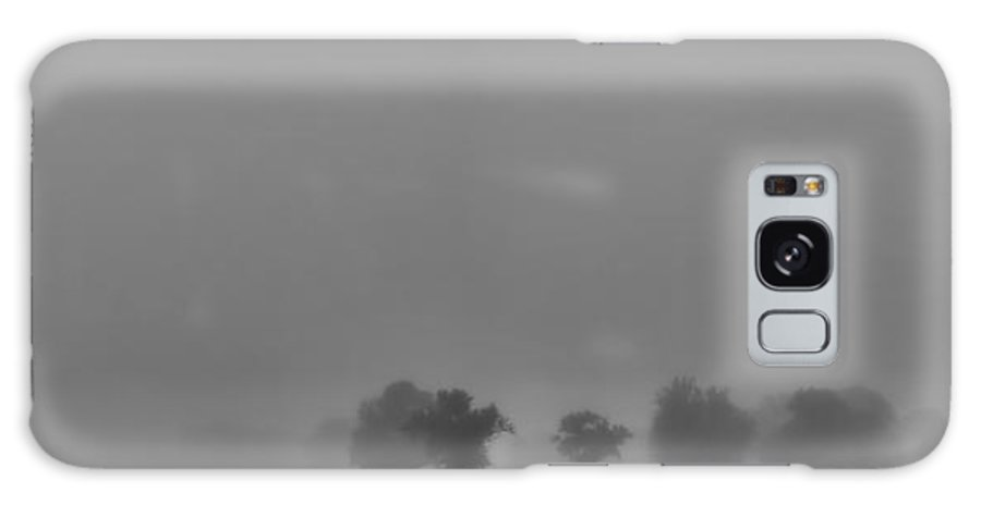Fog Galaxy S8 Case featuring the photograph A Foggy Day In Starkville Town by Allen Gresham