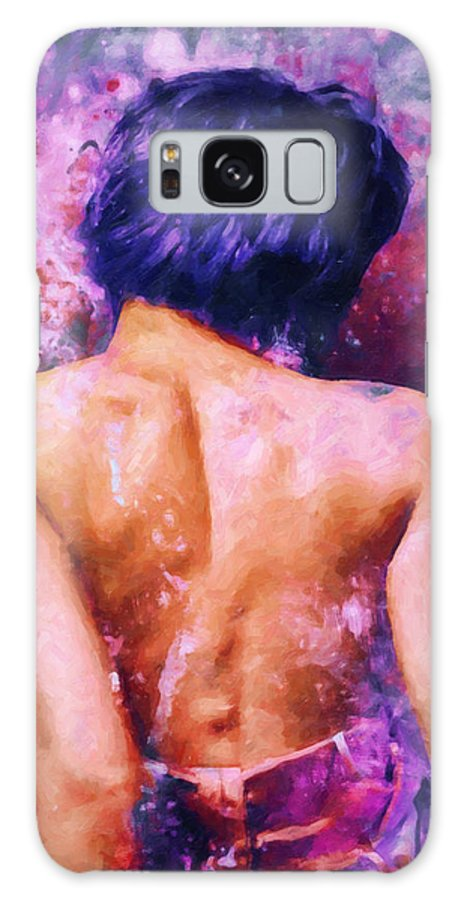 Www.themidnightstreets.net Galaxy S8 Case featuring the digital art A Forbidden Love Affair by Joe Misrasi