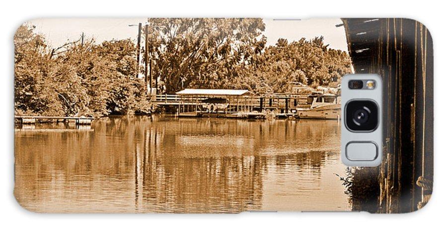 Delta Marina Galaxy S8 Case featuring the photograph A Forgotten Delta Marina by Joseph Coulombe