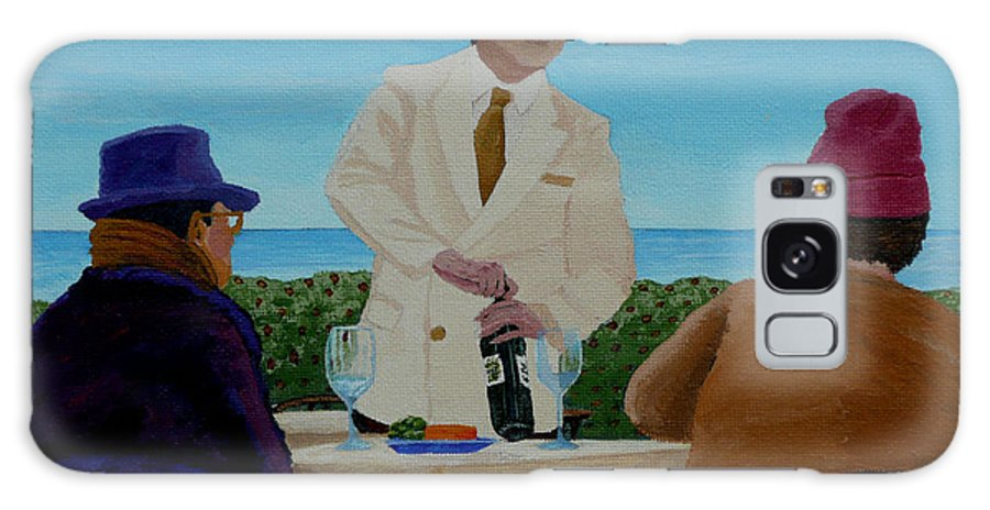Wine Galaxy Case featuring the painting A Fresh Bottle by Anthony Dunphy