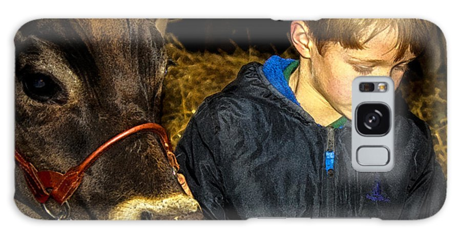 Lifestyle Galaxy S8 Case featuring the photograph A Future Farmer In The Making by Toma Caul
