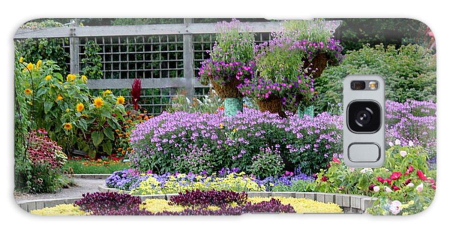 Garden Galaxy S8 Case featuring the photograph A Garden Of Smiles by Rosanne Jordan