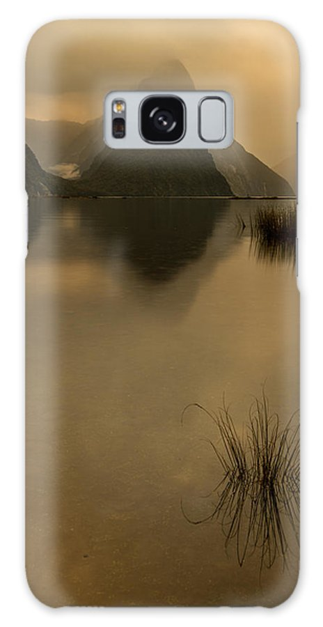 Milford Sound Galaxy S8 Case featuring the photograph A Golden Moment by Little m Photography