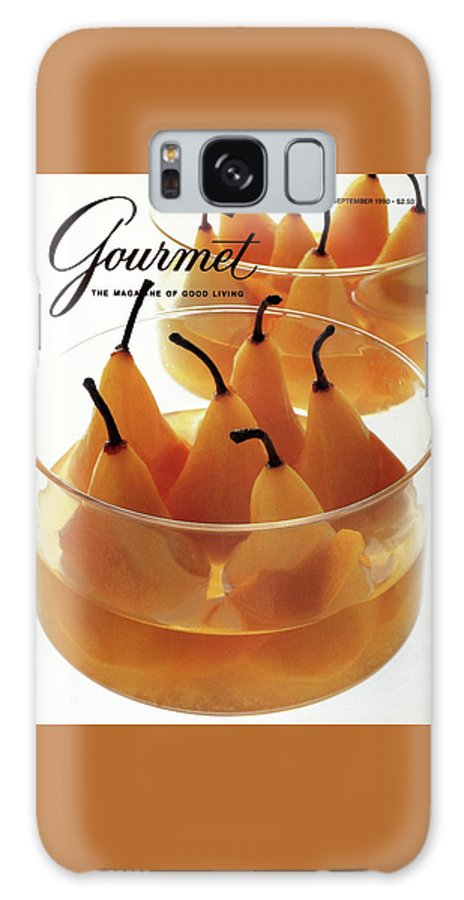 Food Galaxy S8 Case featuring the photograph A Gourmet Cover Of Baked Pears by Romulo Yanes