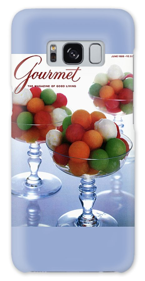Food Galaxy S8 Case featuring the photograph A Gourmet Cover Of Melon Balls by Romulo Yanes