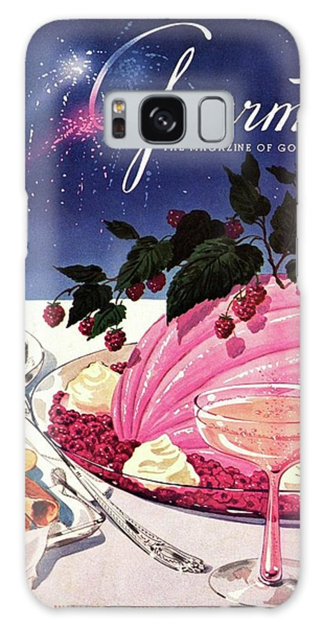 Illustration Galaxy S8 Case featuring the photograph A Gourmet Cover Of Mousse by Henry Stahlhut