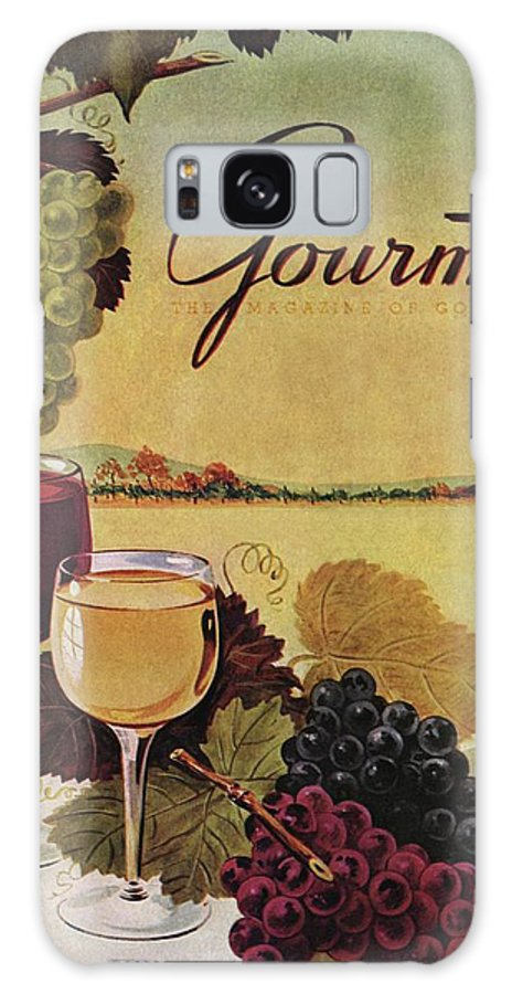 Exterior Galaxy S8 Case featuring the photograph A Gourmet Cover Of Wine by Henry Stahlhut
