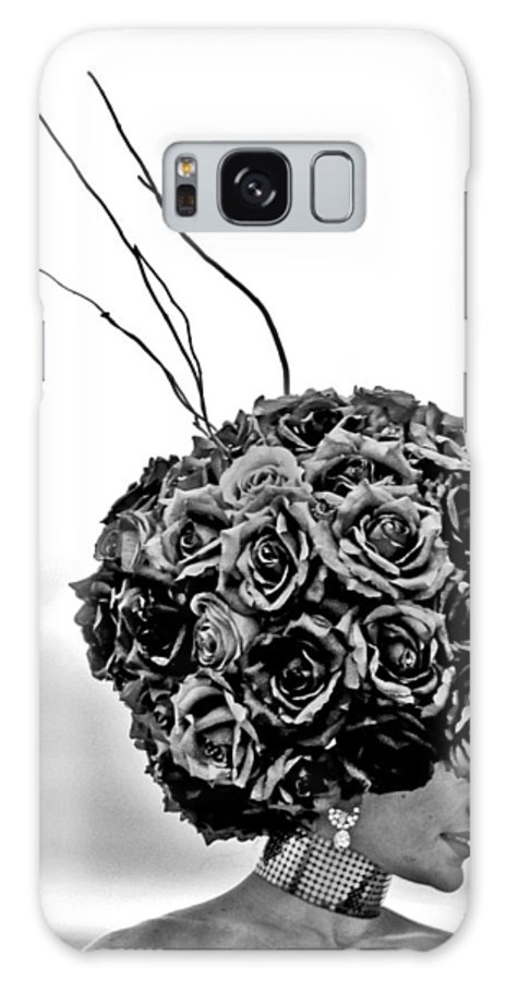 New Galaxy S8 Case featuring the photograph A Hat Of Roses by Tom Gari Gallery-Three-Photography