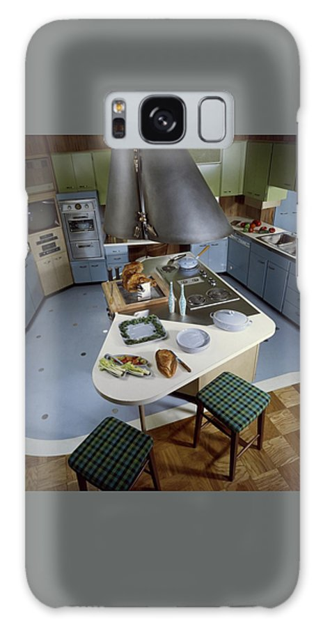 Kitchen Galaxy S8 Case featuring the photograph A Kitchen Designed By Ralph & Jane Bonnell by George De Gennaro