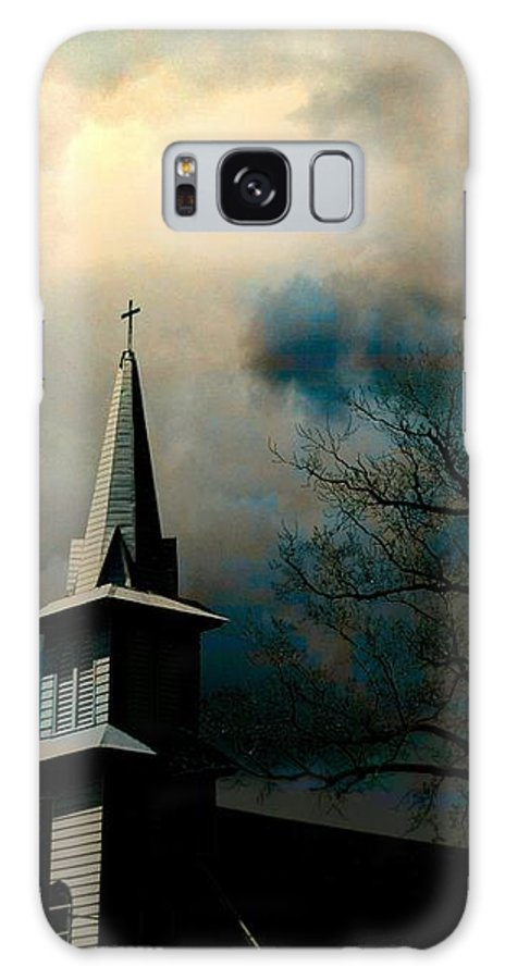 Church Galaxy S8 Case featuring the photograph A Light Breaks Through by Jeffrey Todd Moore