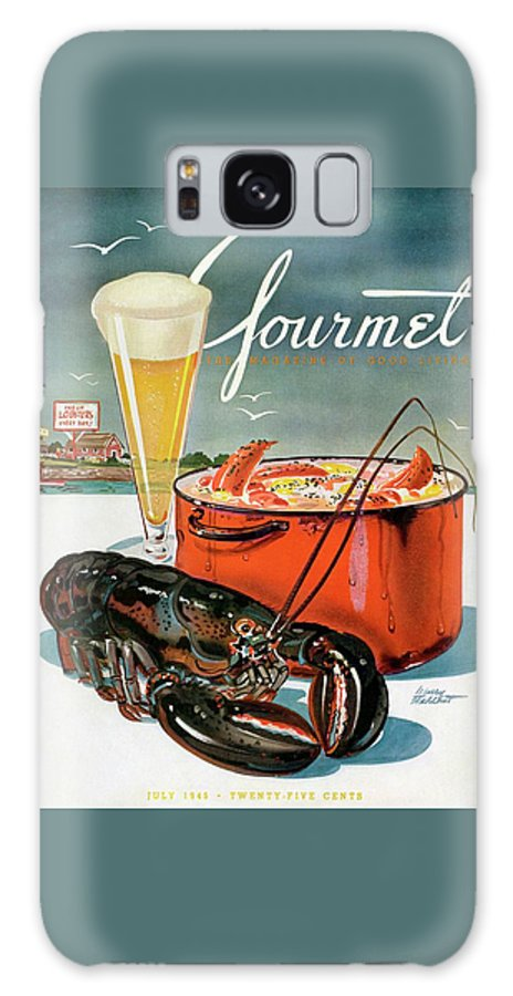 A Lobster And A Lobster Pot With Beer Galaxy Case