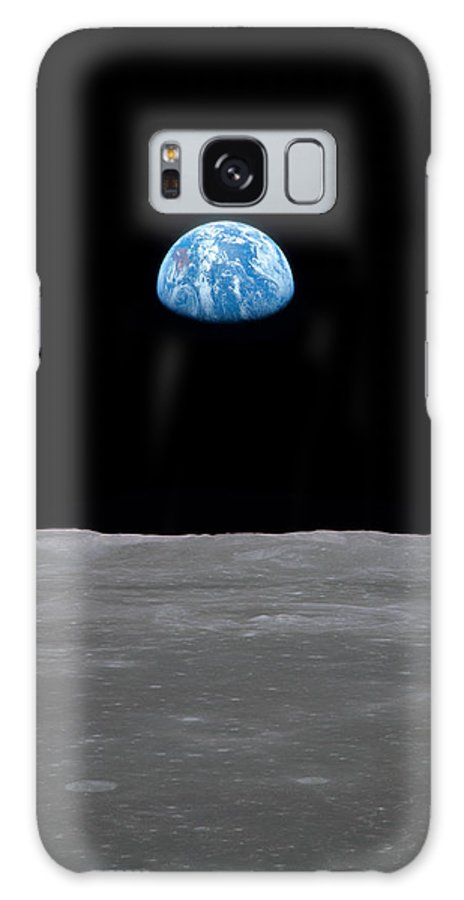 Moon Galaxy S8 Case featuring the photograph A Long Way From Home by Ricky Barnard