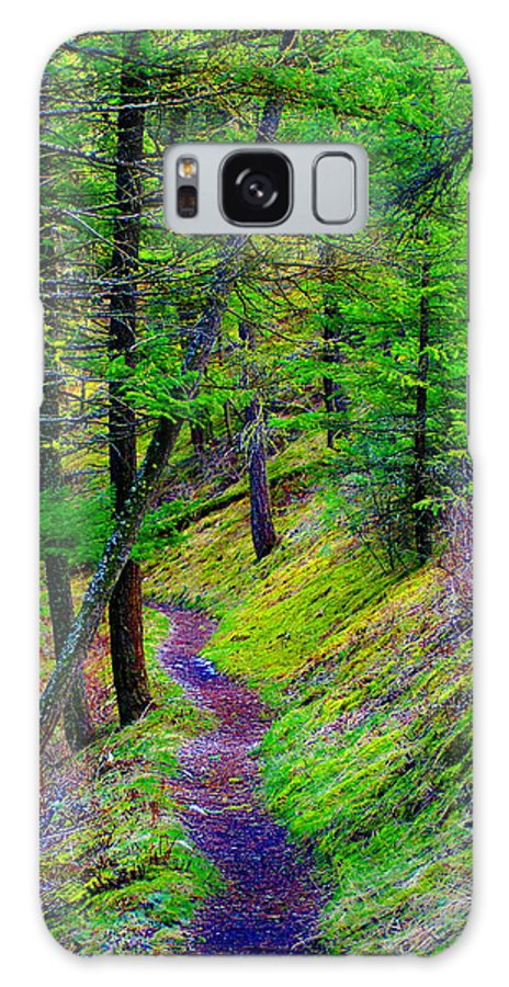 Photo Art Galaxy S8 Case featuring the photograph A Magical Path To Enlightenment by Ben Upham III