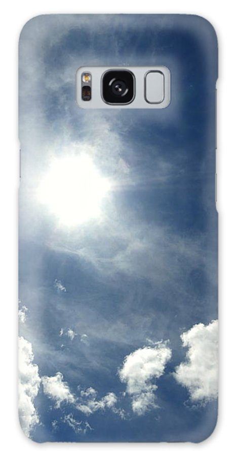 Sky Galaxy S8 Case featuring the photograph A Pathway To Heaven by Carmen Cordova