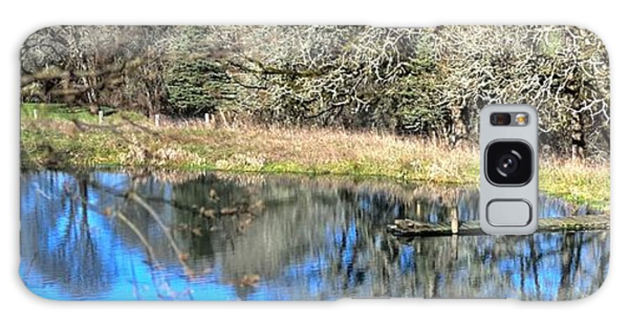 Highway Galaxy S8 Case featuring the photograph A Place To Ponder 055 by Jerry Sodorff