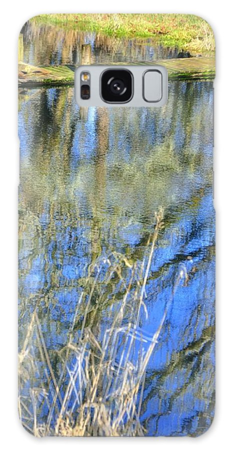 Highway Galaxy S8 Case featuring the photograph A Place To Ponder 061 by Jerry Sodorff