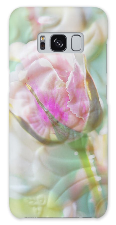 Rose Galaxy S8 Case featuring the photograph A Porcelain Rose by Marie Jamieson