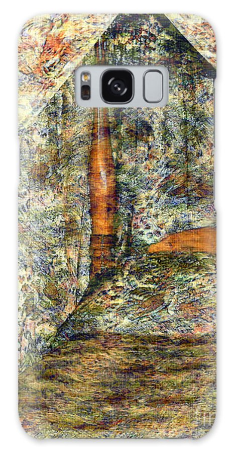 Antiques Galaxy S8 Case featuring the painting A Profusion Of Chintz by RC DeWinter