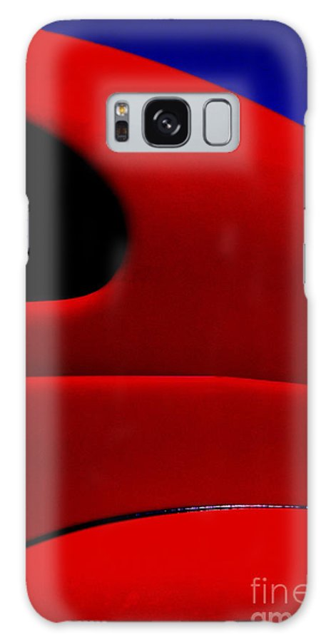 Red Galaxy S8 Case featuring the photograph Red Hot - Hot Rod by Paul W Faust - Impressions of Light