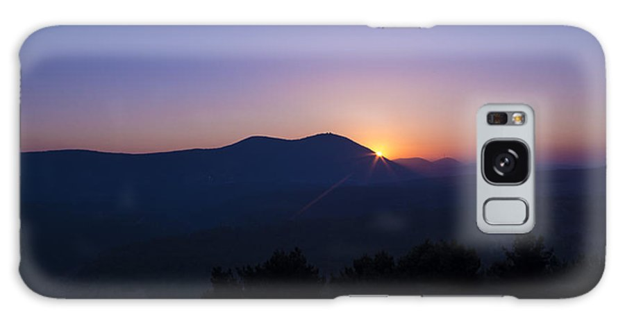Safed Galaxy S8 Case featuring the photograph A Safed Sunset. by Nathan Engel