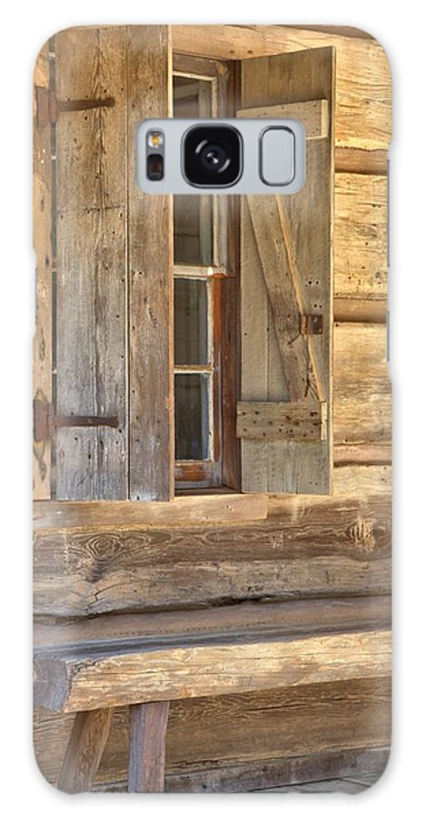 8195 Galaxy S8 Case featuring the photograph A Seat By The Window by Gordon Elwell
