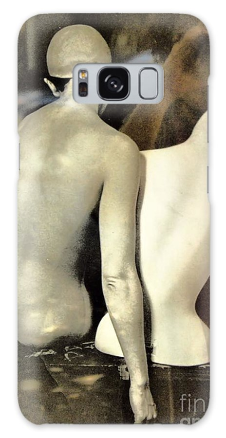 Abstract Galaxy S8 Case featuring the photograph A Separate Sorrow by Lauren Leigh Hunter Fine Art Photography
