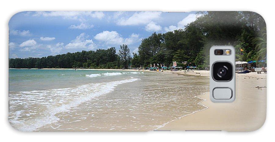 Beach Galaxy S8 Case featuring the photograph A Sunny Day On Nai Yang Beach Phuket Island Thailand by Ash Sharesomephotos