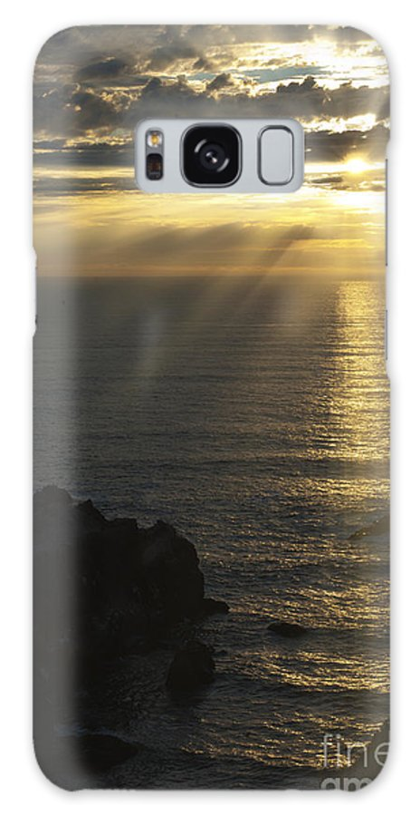 Sunset Galaxy S8 Case featuring the photograph A Touch Of Heaven by Sandra Bronstein