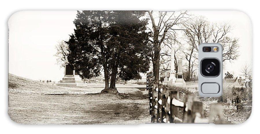 A Tree Grows In Gettysburg Galaxy S8 Case featuring the photograph A Tree Grows In Gettysburg by John Rizzuto