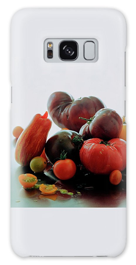Vegetables Galaxy Case featuring the photograph A Variety Of Vegetables by Romulo Yanes
