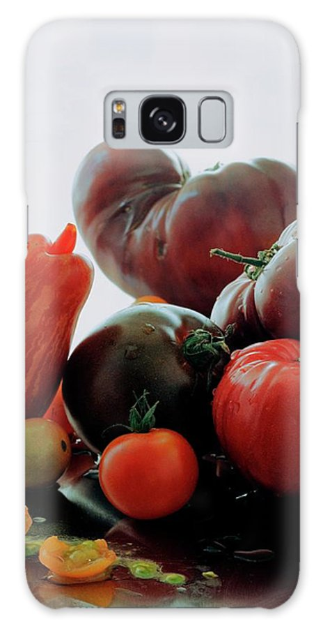 Vegetables Galaxy S8 Case featuring the photograph A Variety Of Vegetables by Romulo Yanes