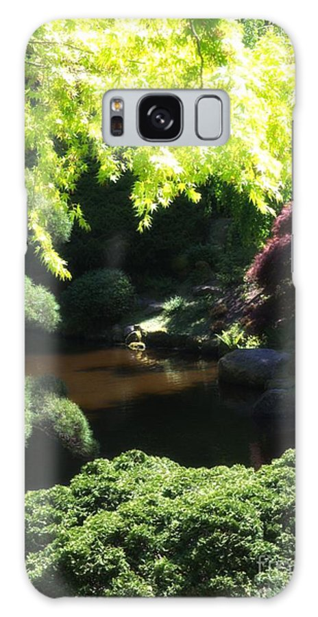 Newel Hunter Galaxy S8 Case featuring the photograph A Walk In The Woods 10 by Newel Hunter