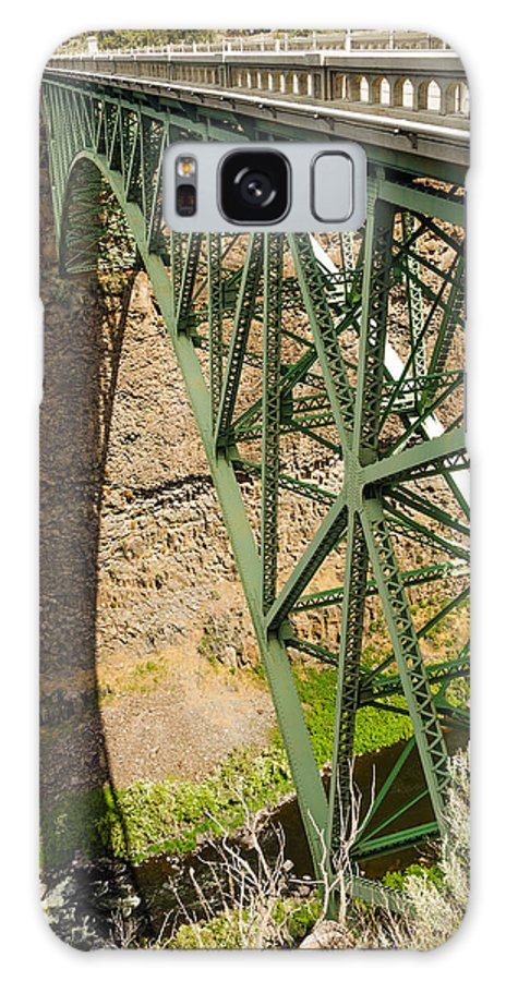 Bridge Galaxy S8 Case featuring the photograph Abandoned Highway Vertical by Jess Kraft
