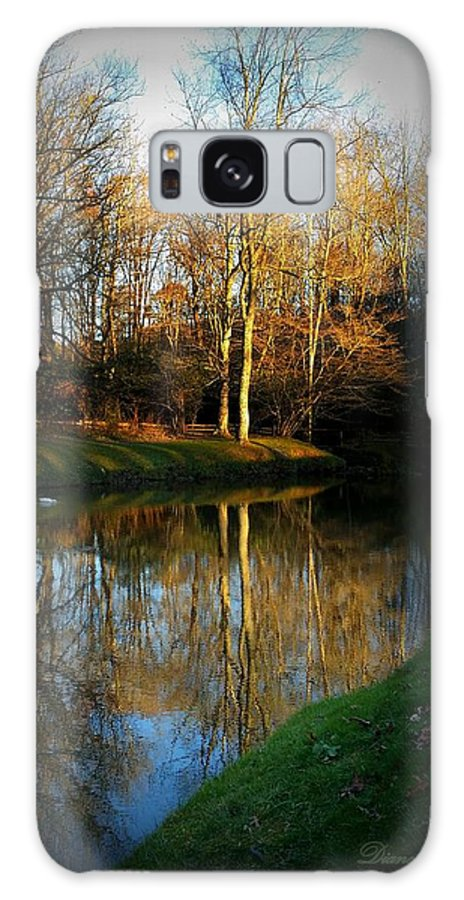 Reflective Galaxy S8 Case featuring the photograph Above And Below by Diane Leo