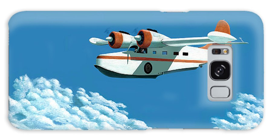 G-21 Galaxy S8 Case featuring the painting Above It All The Grumman Goose by Gary Giacomelli