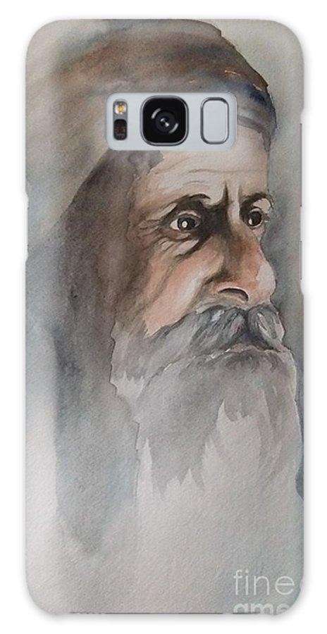 Abraham Galaxy S8 Case featuring the painting Abraham by Annemeet Hasidi- van der Leij