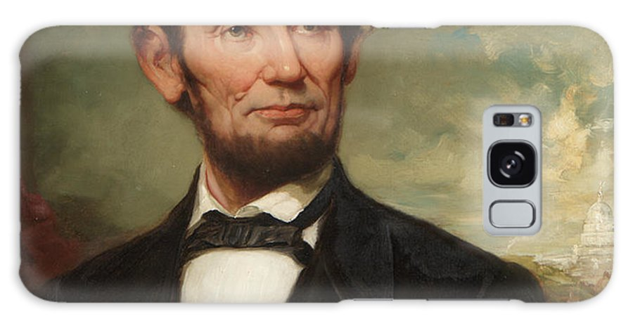 The President Galaxy S8 Case featuring the painting Abraham Lincoln by George Henry Story
