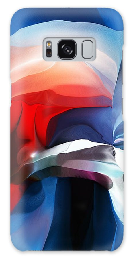 Abstract Galaxy S8 Case featuring the digital art Abstract 071713 by David Lane