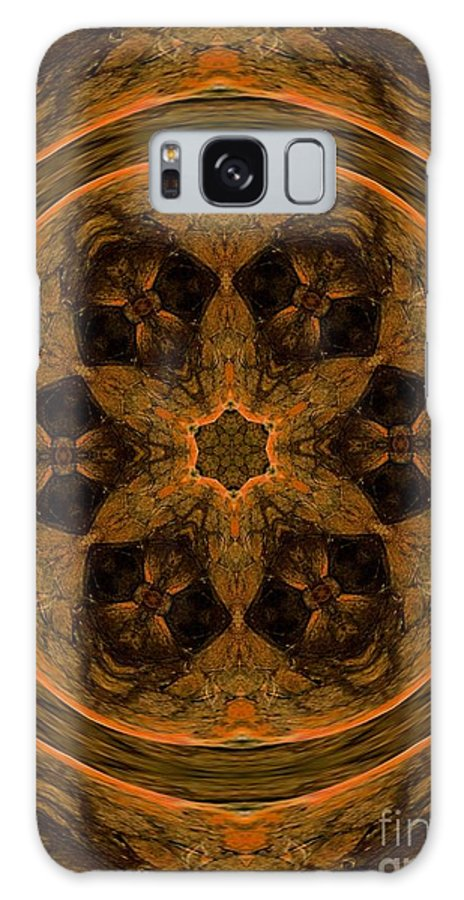Abstract 105b Galaxy S8 Case featuring the digital art Abstract 105b by Maria Urso