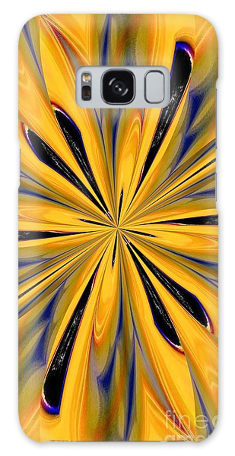 Abstract 227 Galaxy S8 Case featuring the digital art Abstract 227 by Maria Urso