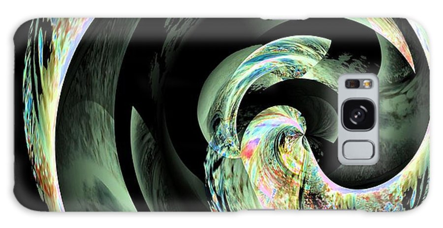 Abstract 291 Galaxy S8 Case featuring the digital art Abstract 291 by Maria Urso