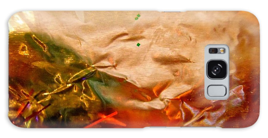 Orange Galaxy S8 Case featuring the photograph Abstract 3530 by Stephanie Moore