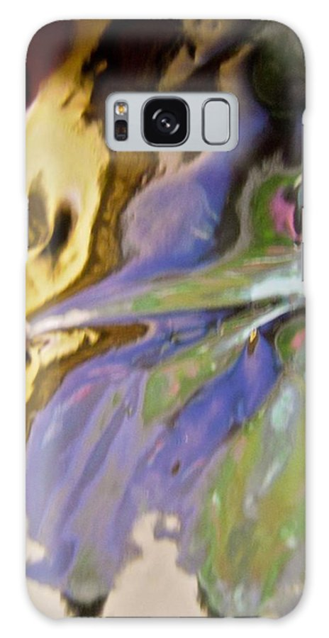 Purple Galaxy S8 Case featuring the photograph Abstract 3909 by Stephanie Moore