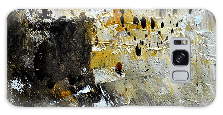 Abstract Galaxy S8 Case featuring the painting Abstract 411111 by Pol Ledent